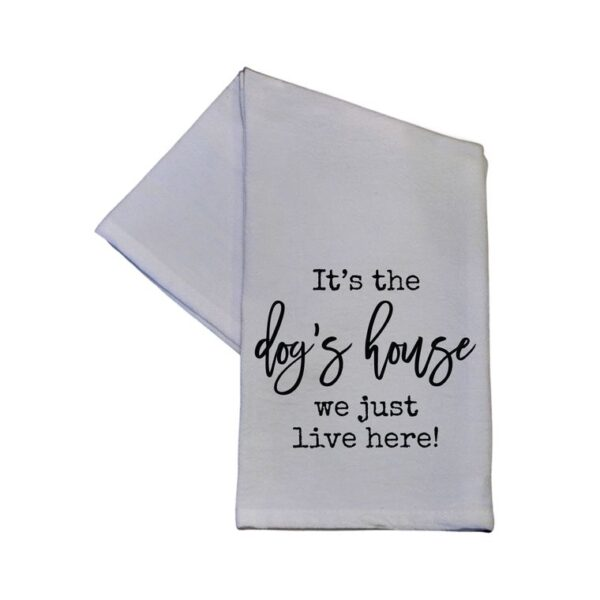 Made in the USA, 100% Cotton, Tea Towel, Kitchen Towel, Dish Towel, Pets, Dogs