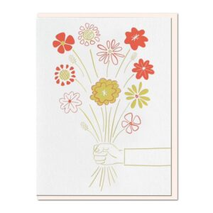 Made in the USA, Hand Drawn, Letterpress Printing, Mid-century are inspired, Stationary, Cards, Tree-free paper