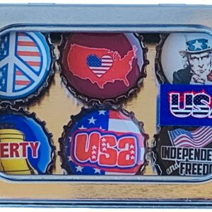 Made in the USA, Recycled materials, Magnets, USA Theme