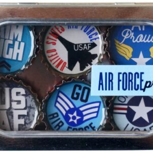 Made in the USA, Recycled materials, Magnets, Air Force, Military