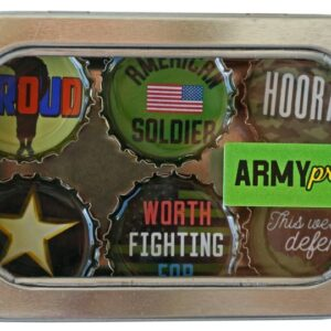 Made in the USA, Recycled materials, Magnets, Army, Military